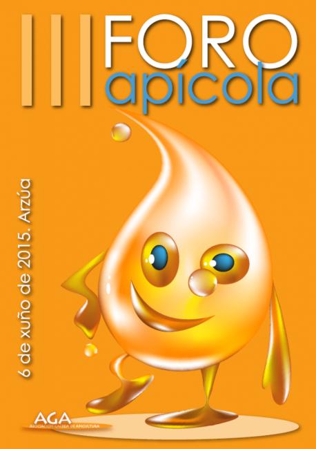 Cartaz Foro Apícola 2015