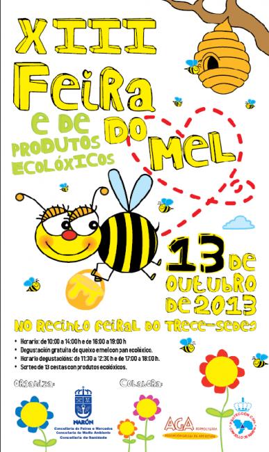 Feira do Mel e dos Produtos Ecolóxicos 2013