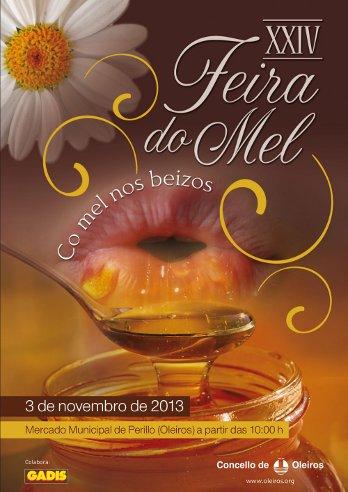 Cartel Feira Mel Oleiros 2013