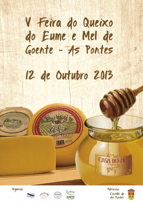 Cartel Feira do Mel de Goente 2013