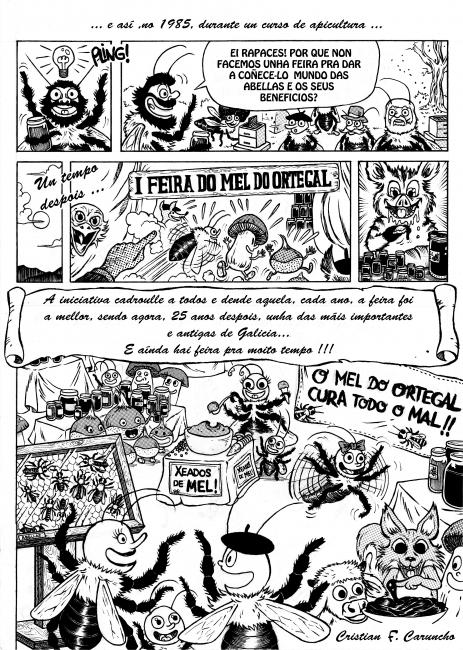 Pax3 comic Feira Mel Ortegal 2013