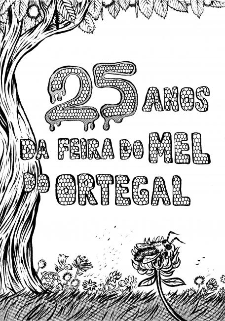 Portada comic Feira Mel Ortegal