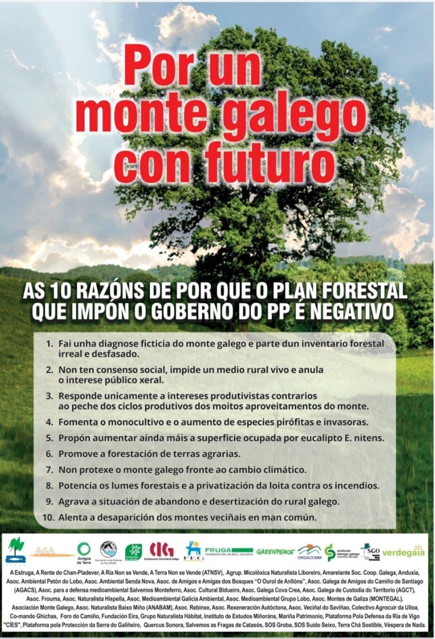 """Por un monte galego con futuro"""