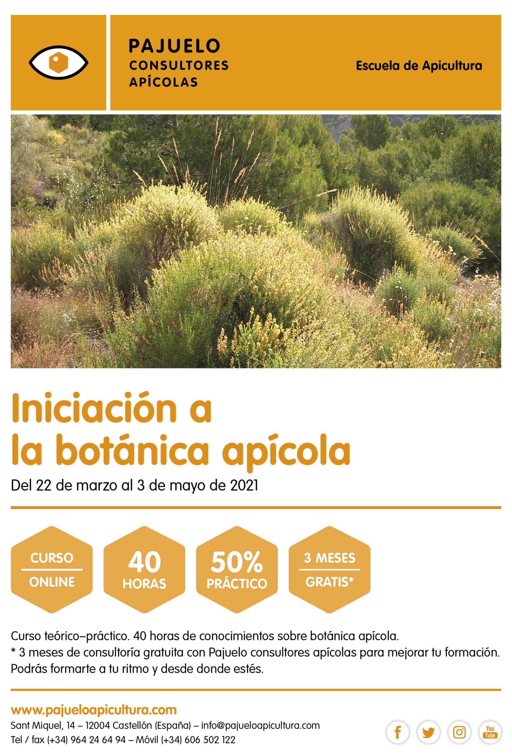 Iniciación á Botánica Apícola