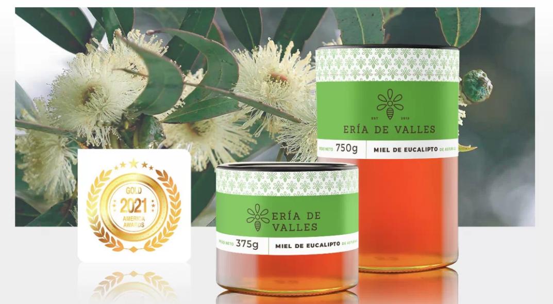 Un mel asturiano, ganador dos America Foods Awards